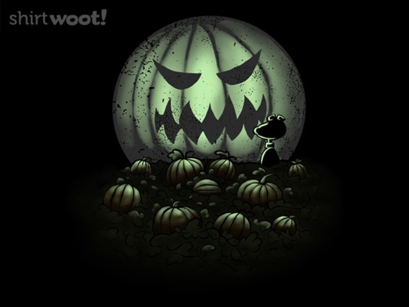 Woot!: A Most Sincere Pumpkin Patch - Glow - $13.00 + $5 standard shipping