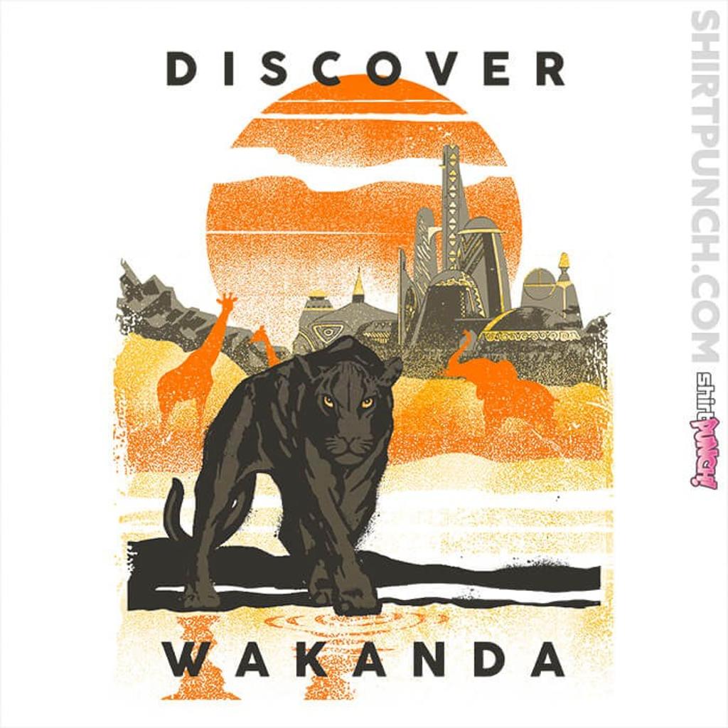 ShirtPunch: Visit Wakanda