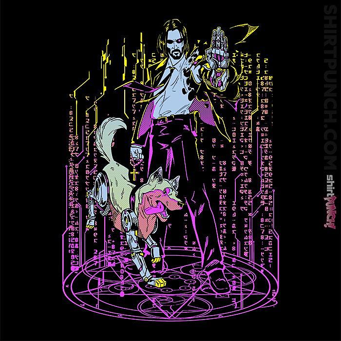 ShirtPunch: Keanuverse 2077