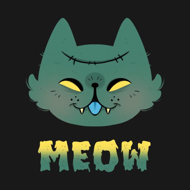 TeePublic: Zombie Meow