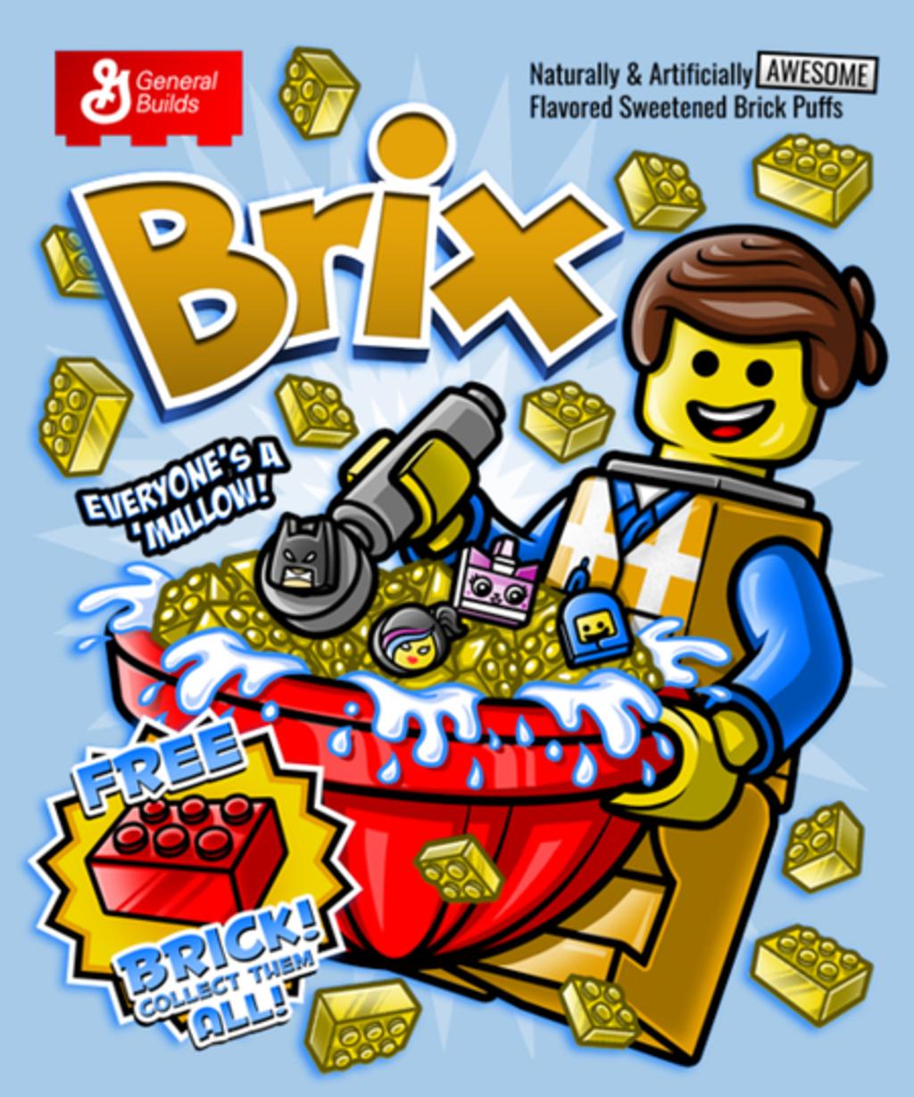 Qwertee: Brix Cereal
