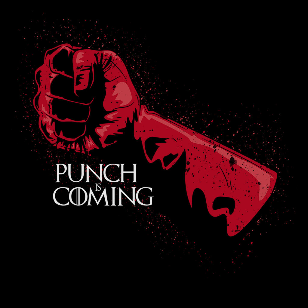 Pop-Up Tee: Punch is Coming