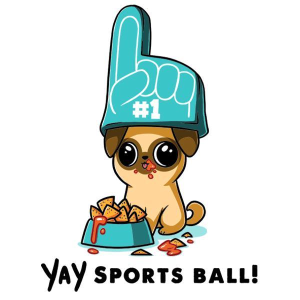 TeeTurtle: YAY Sports Ball!