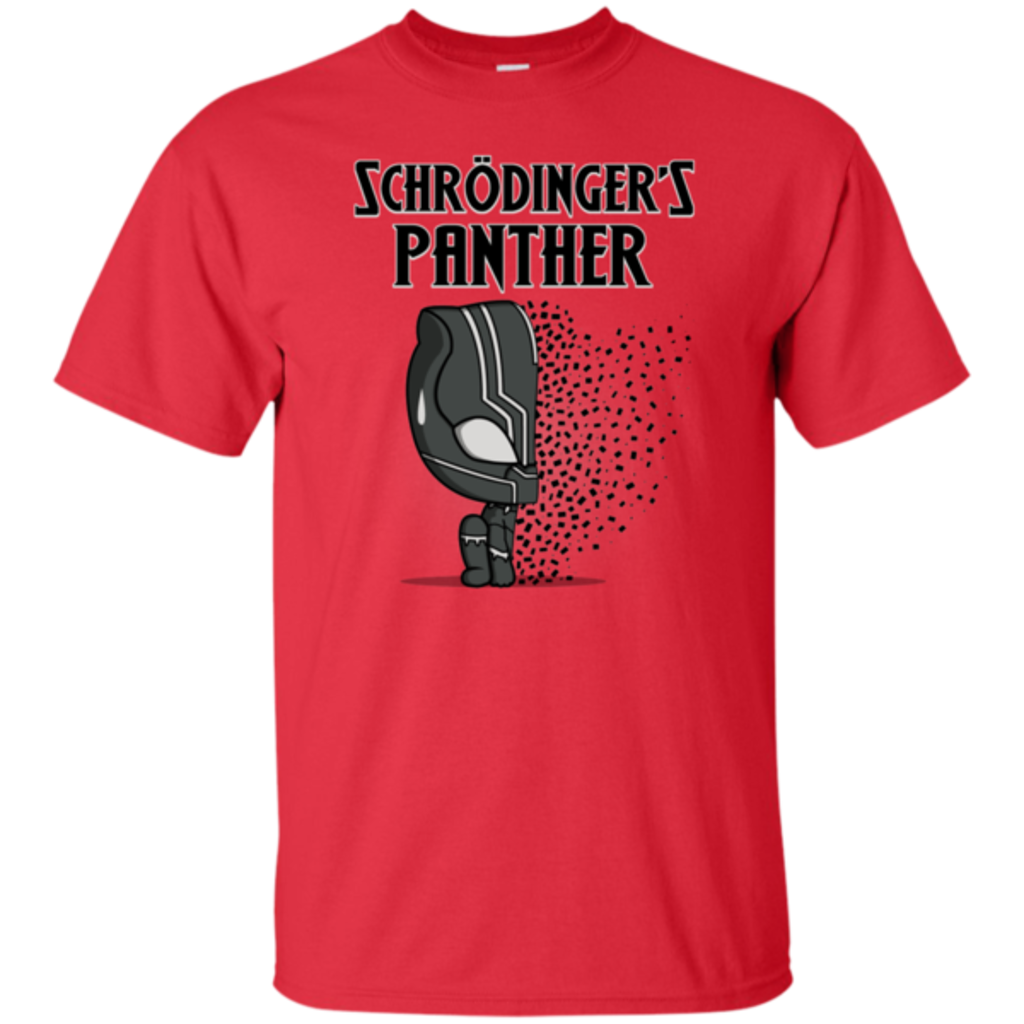 Pop-Up Tee: Schrodingers Panther