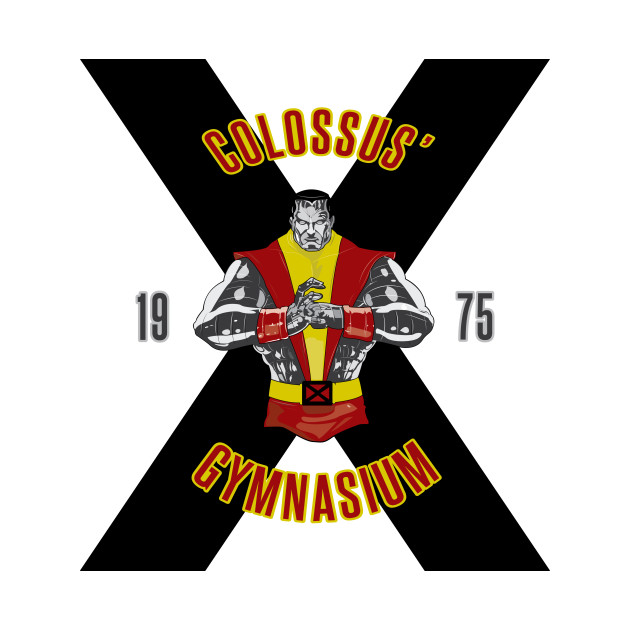 TeePublic: Colossus' Gymnasium