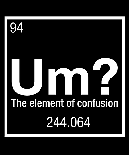 Qwertee: Um? the element of confusion
