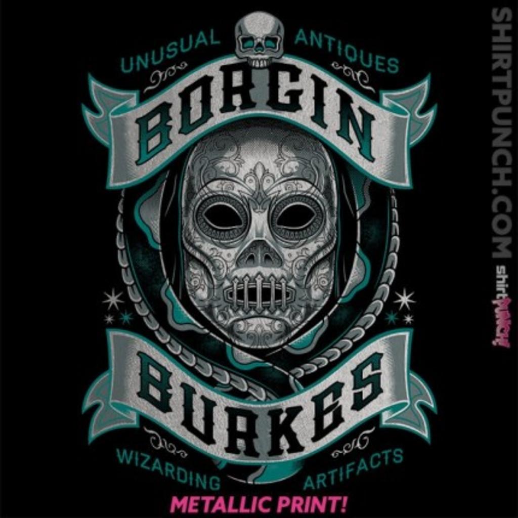 ShirtPunch: Borgin Death Eaters