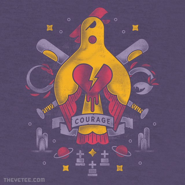 The Yetee: Your Courage