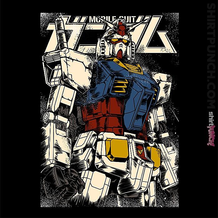 ShirtPunch: The First Gundam