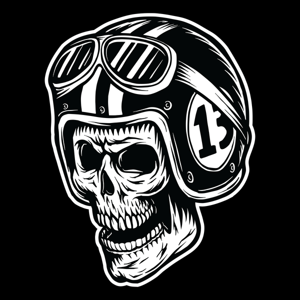 NeatoShop: Evil Skull Bike Rider - 13
