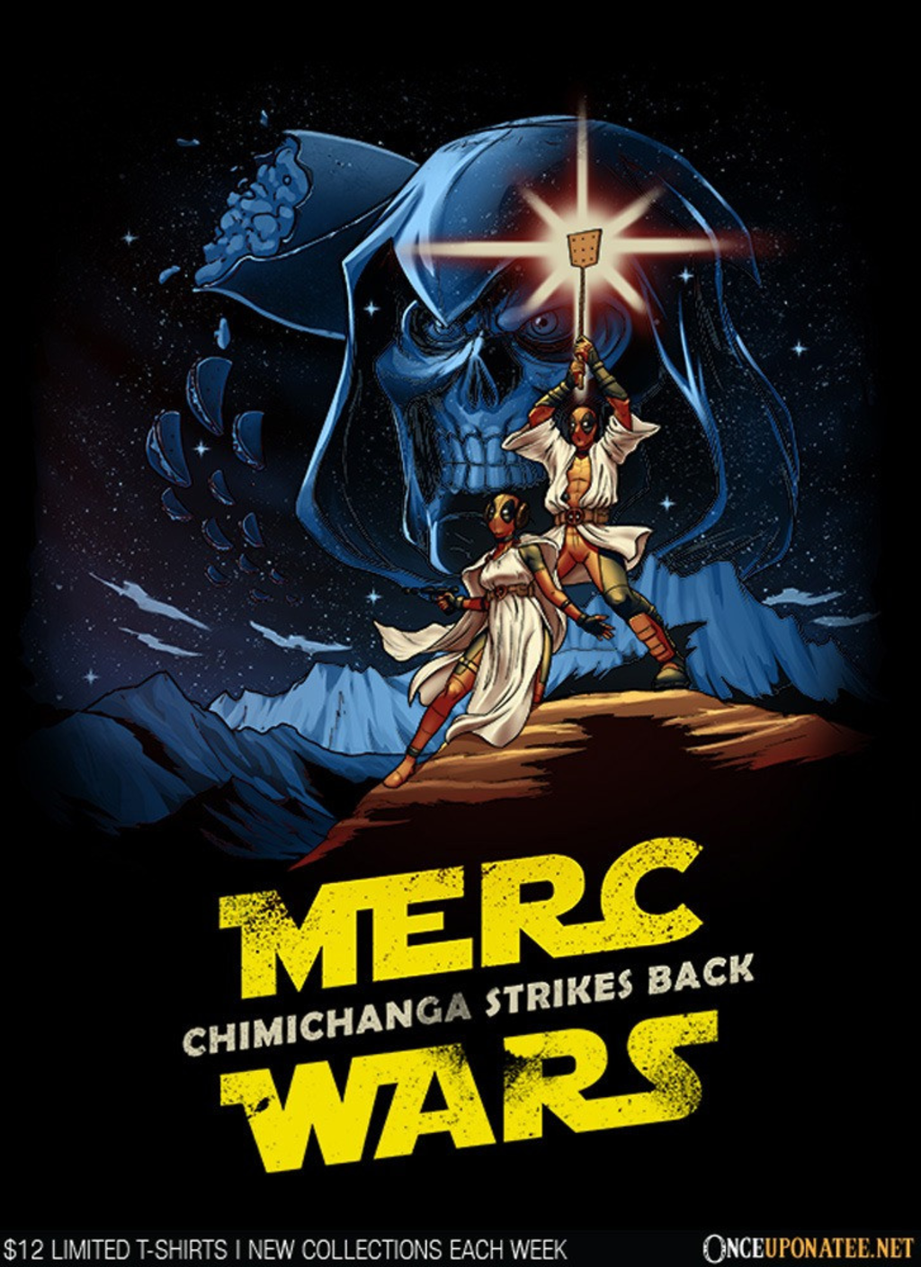 Once Upon a Tee: Chimichanga Wars