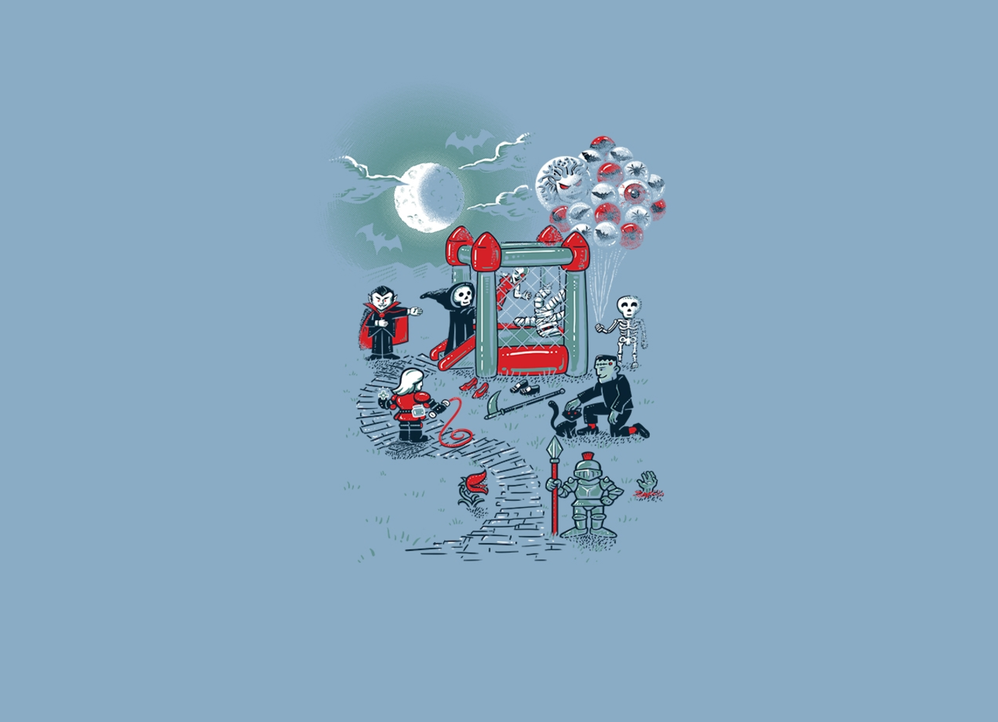 Threadless: THE FUN IS HERE IN CASTLEMANIA