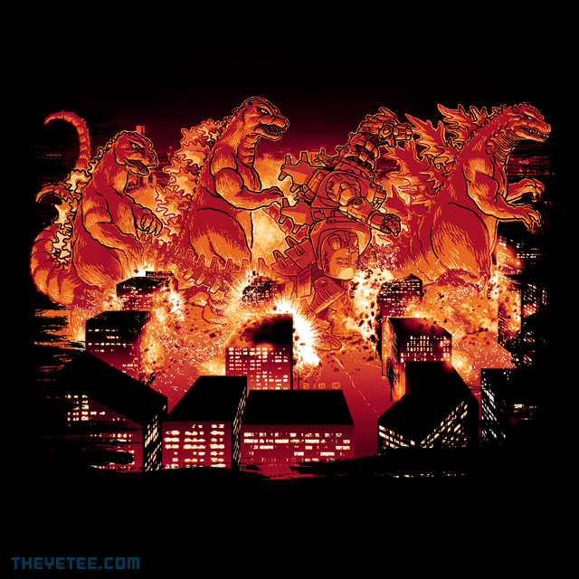 The Yetee: Kaiju Road