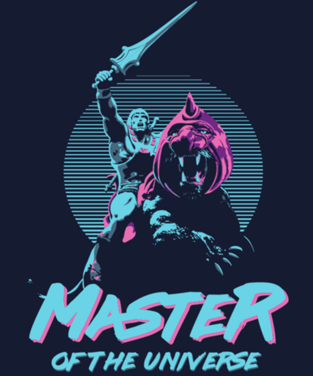 Qwertee: Master of the Universe