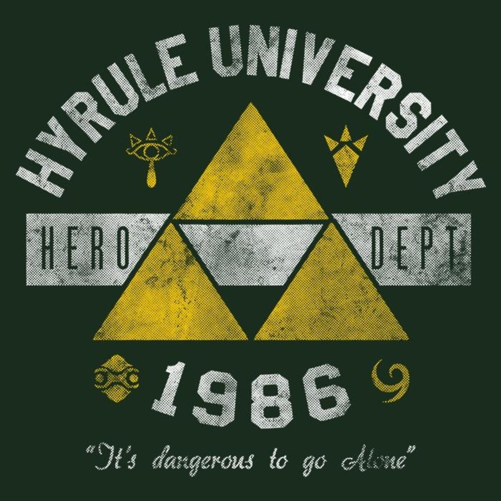 Once Upon a Tee: Hyrule U