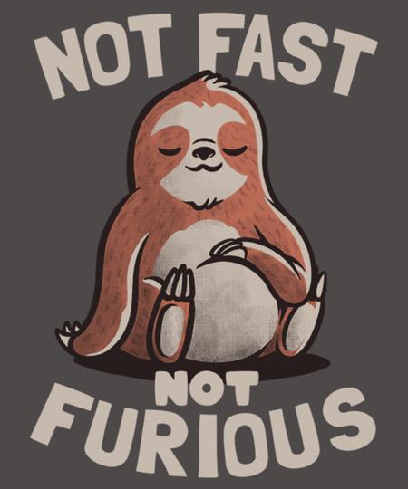 Qwertee: Not Fast Not Furious