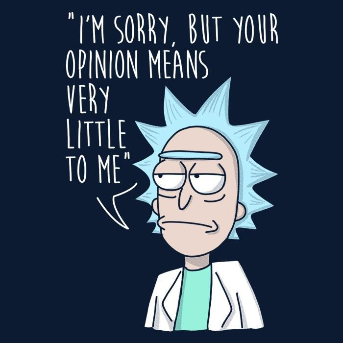 Once Upon a Tee: Rick's Opinion