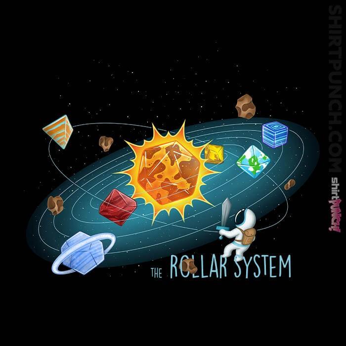 ShirtPunch: Rollar-System