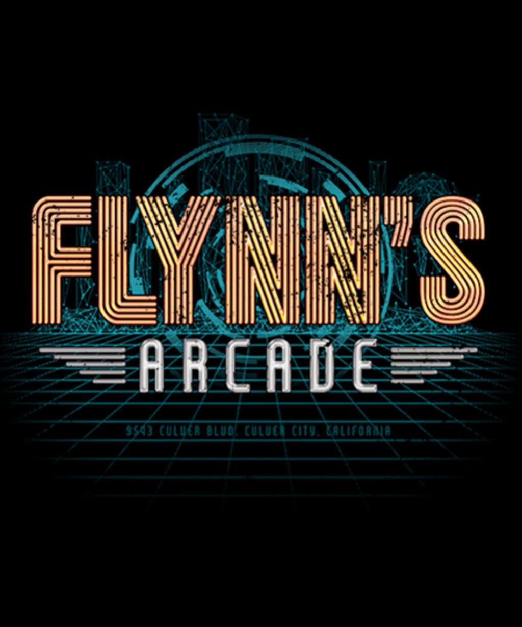 Qwertee: Flynn's Arcade