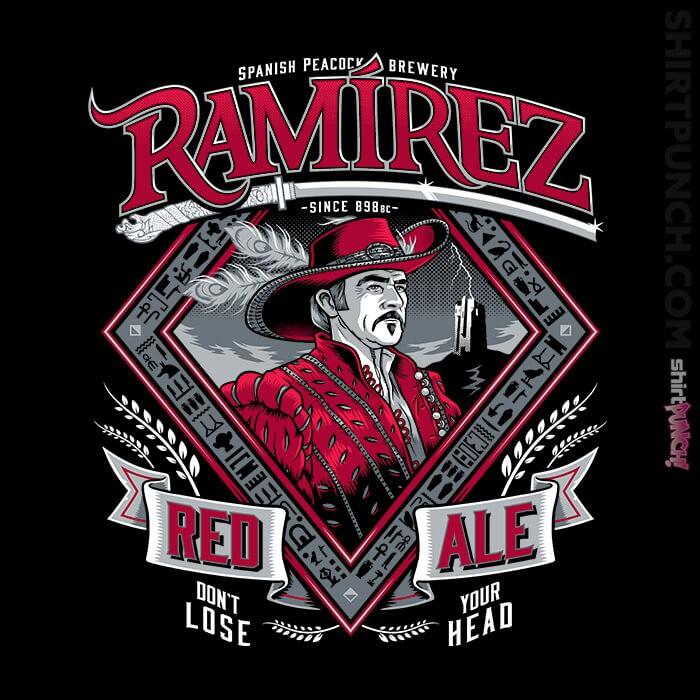 ShirtPunch: Ramirez Red Ale