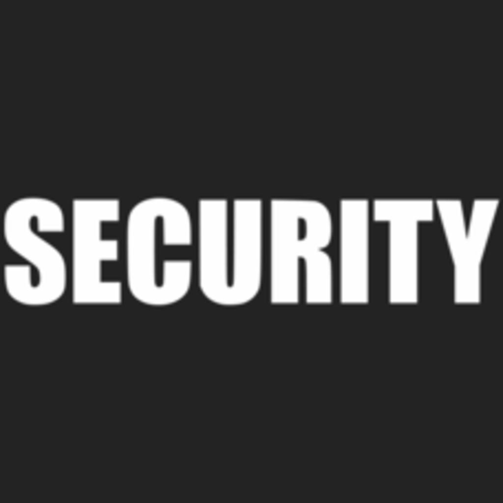 Textual Tees: Security Costume T-Shirt