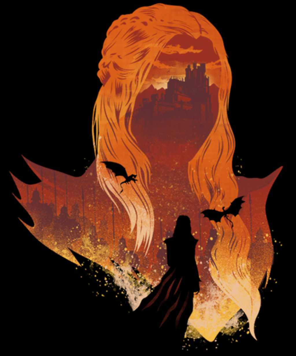 Qwertee: Mother of Dragons