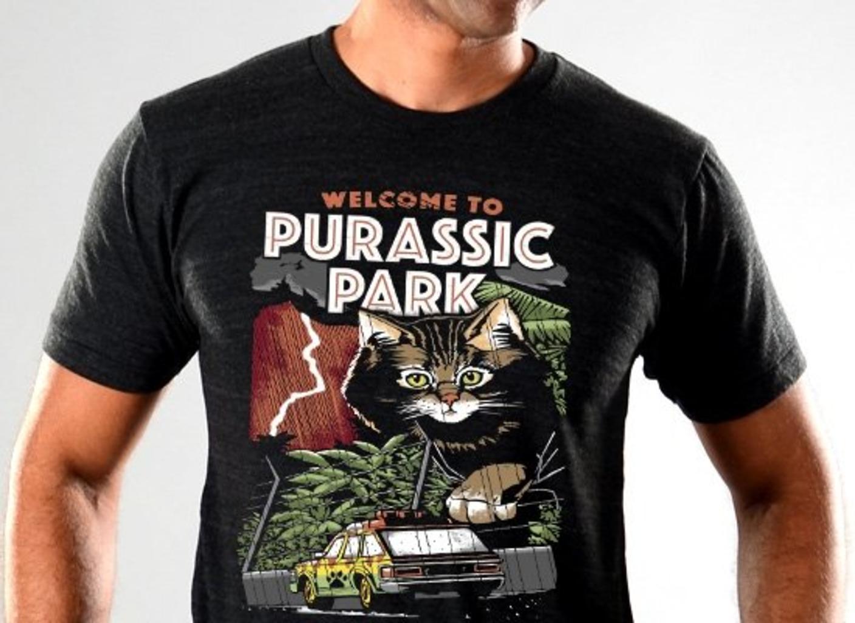 SnorgTees: Purassic Park Limited Edition Tri-Blend