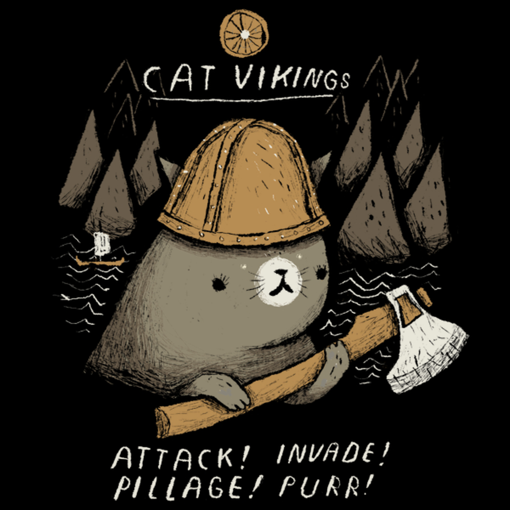 NeatoShop: cat vikings