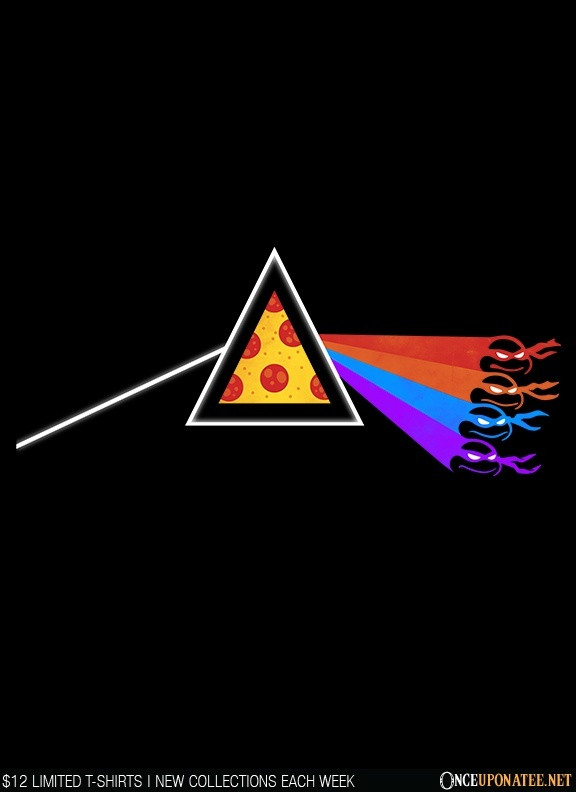 Once Upon a Tee: Dark Side of the Pizza
