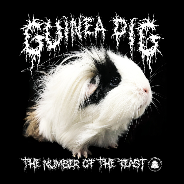 NeatoShop: Black Metal Guinea Pig