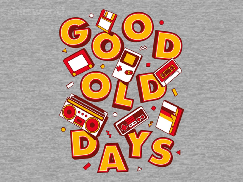Woot!: Good Old Retro Days