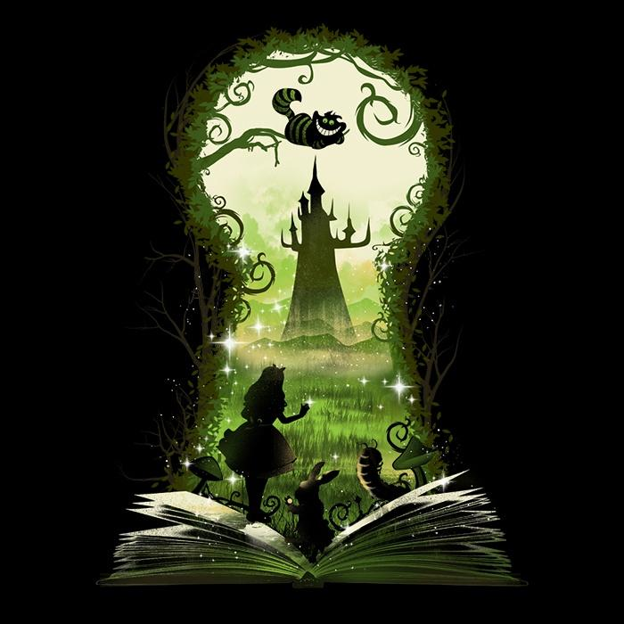 Once Upon a Tee: Book of Wonderland