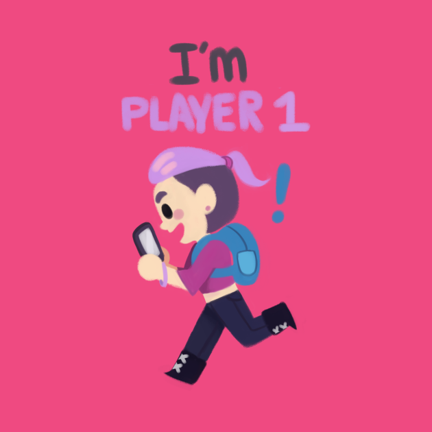 TeePublic: Player 1! GO!