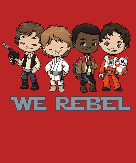 Qwertee: Rebel Boys
