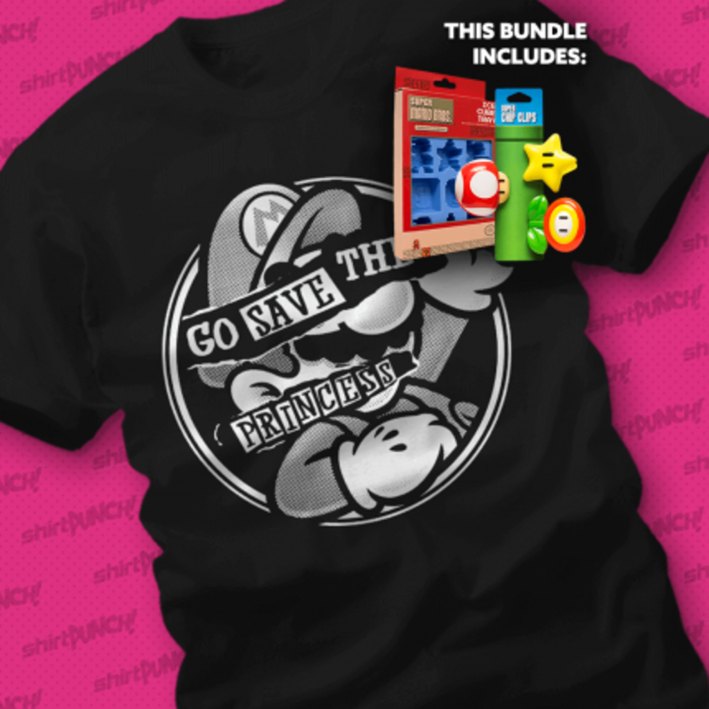 ShirtPunch: Your Chips Are in Another Castle Bundle