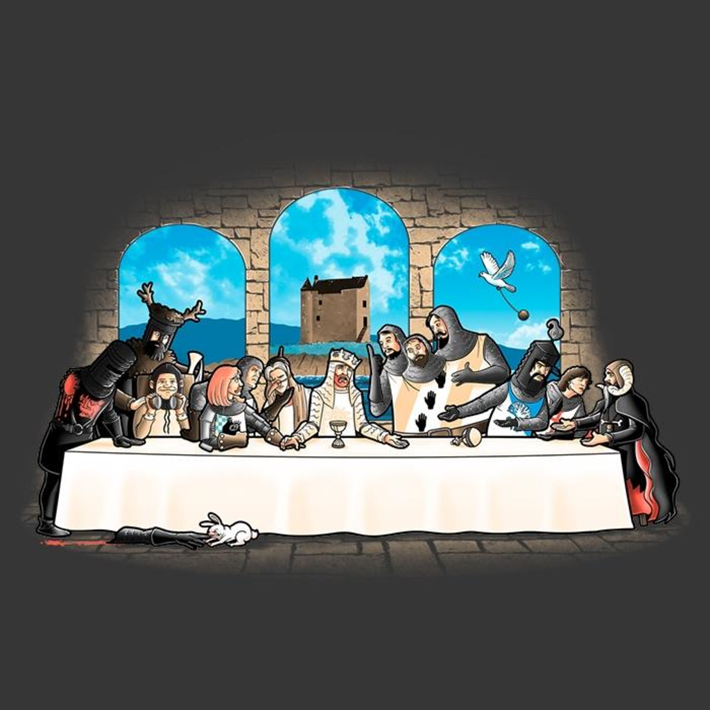 Once Upon a Tee: Holy Grail Dinner