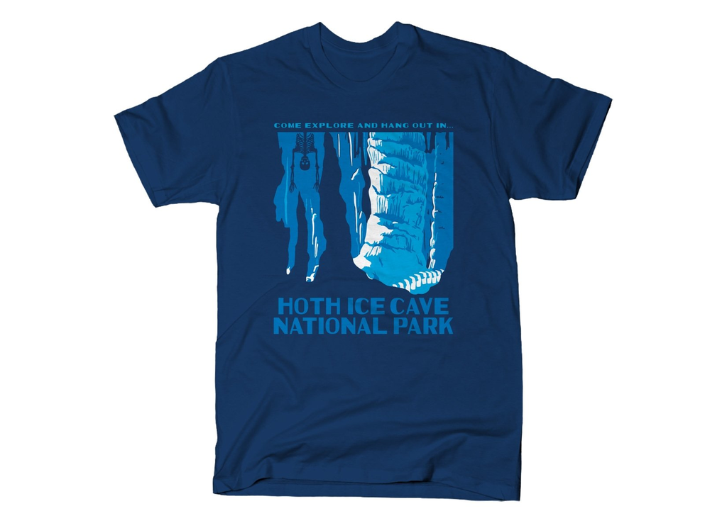 SnorgTees: Hoth Ice Cave National Park