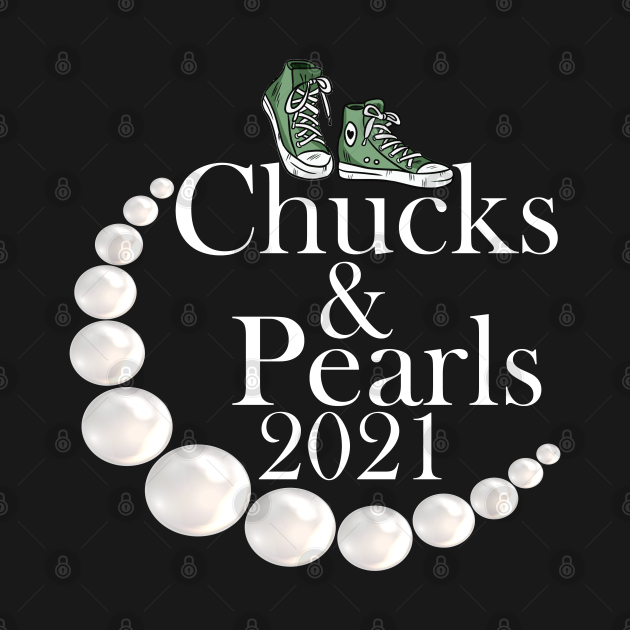 TeePublic: chucks and pearls