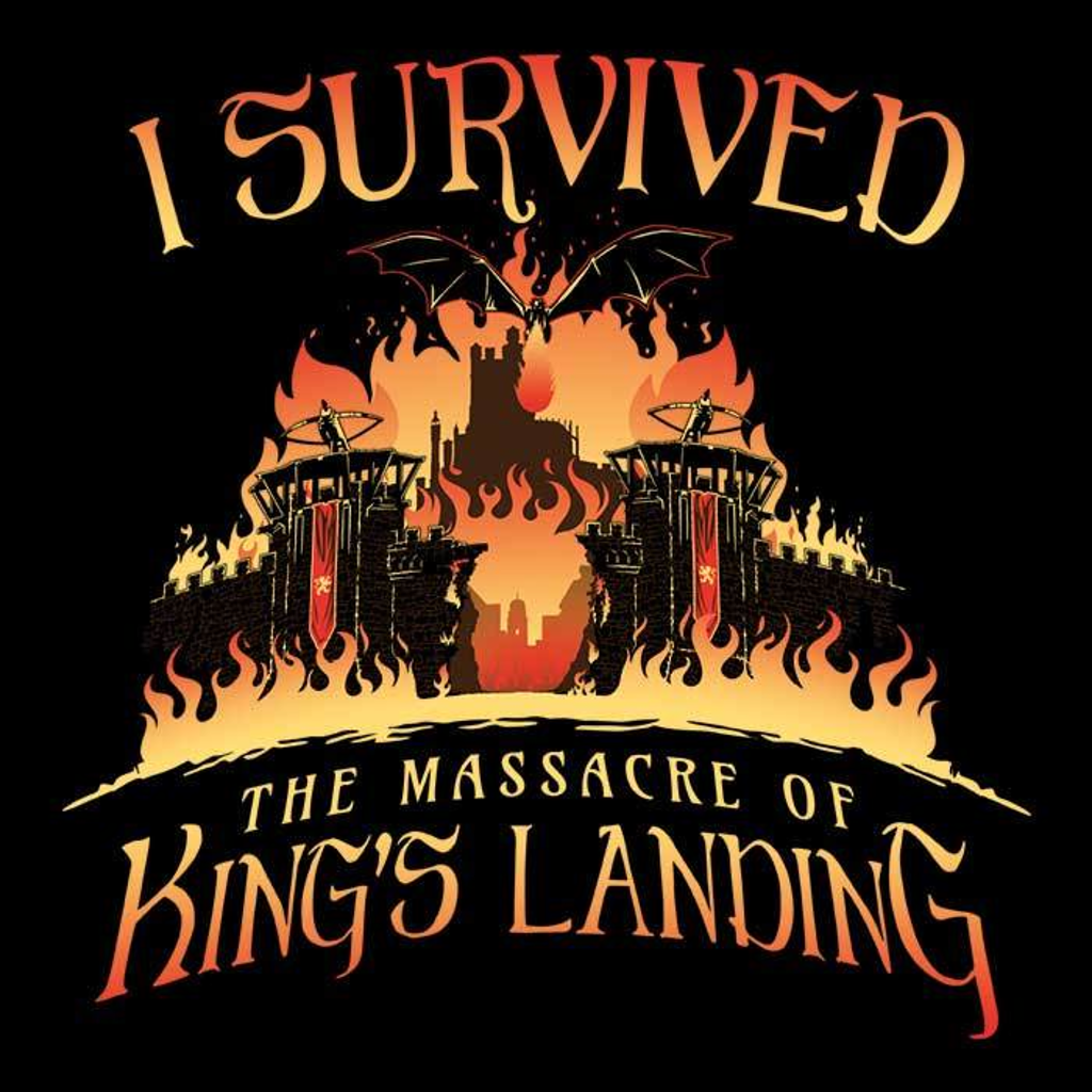 Once Upon a Tee: I survived the Mad Queen
