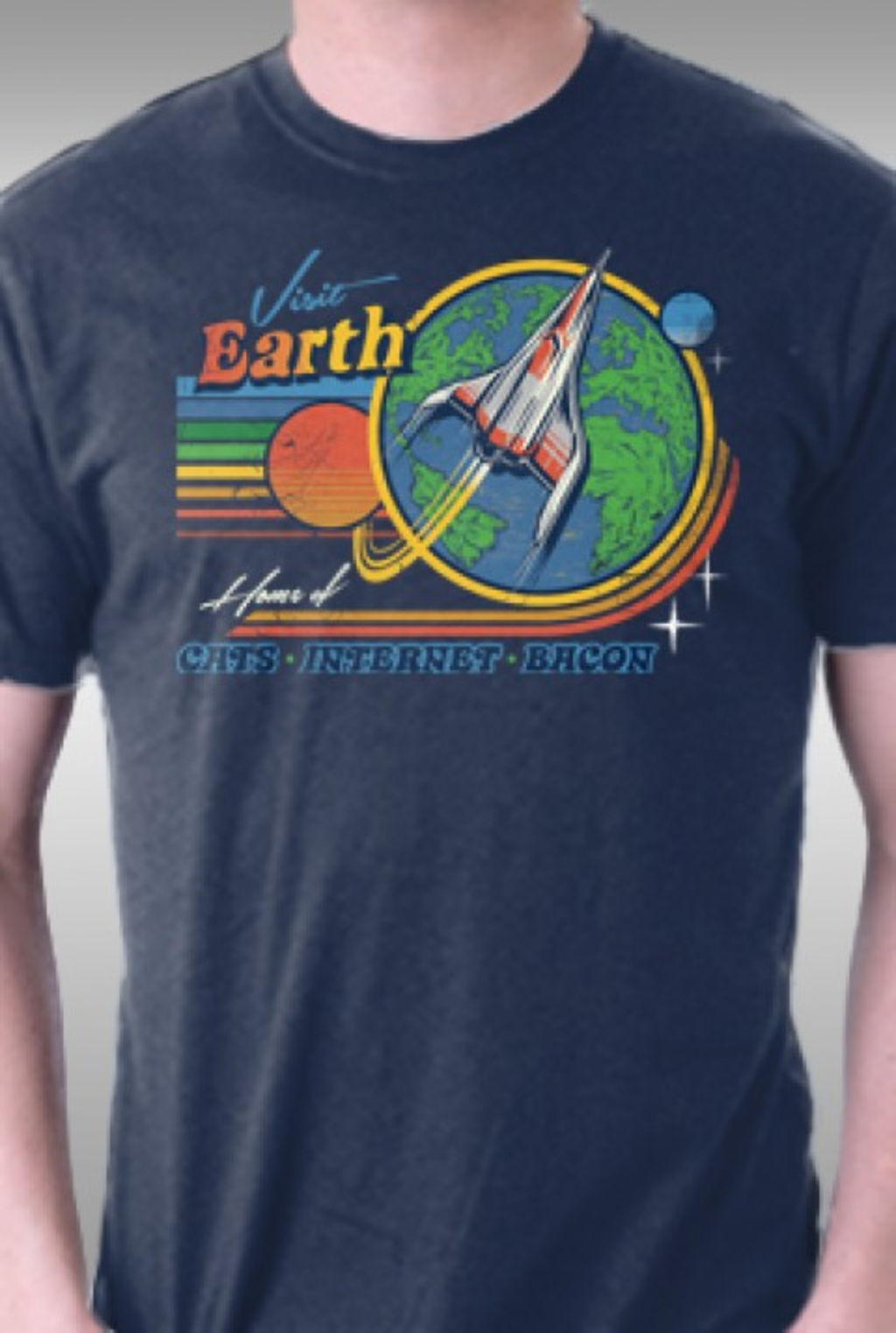 TeeFury: Visit Earth