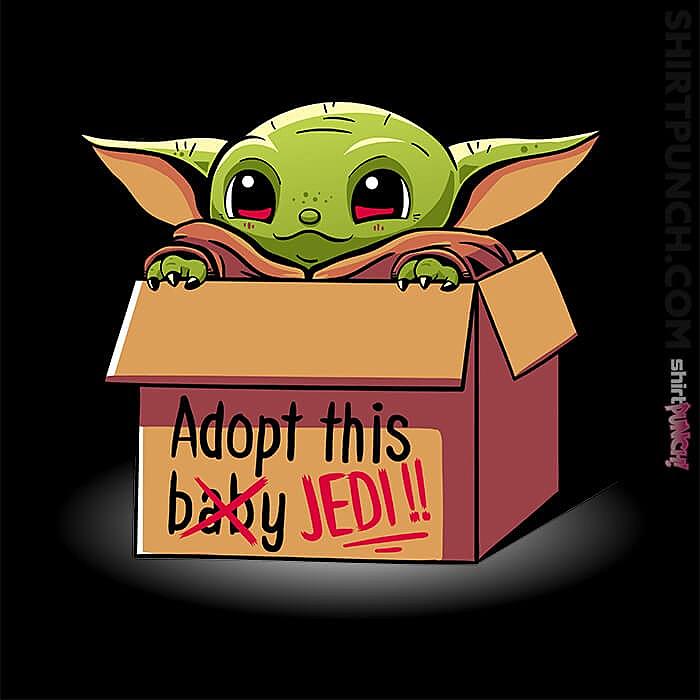 ShirtPunch: Adopt This Jedi