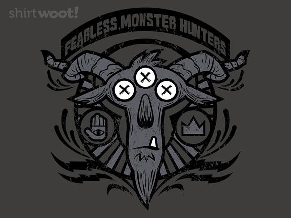 Woot!: Fearless Monster Hunters - $8.00 + $5 standard shipping