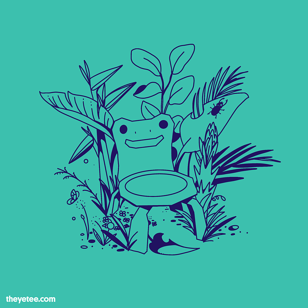 The Yetee: Froggy Chair