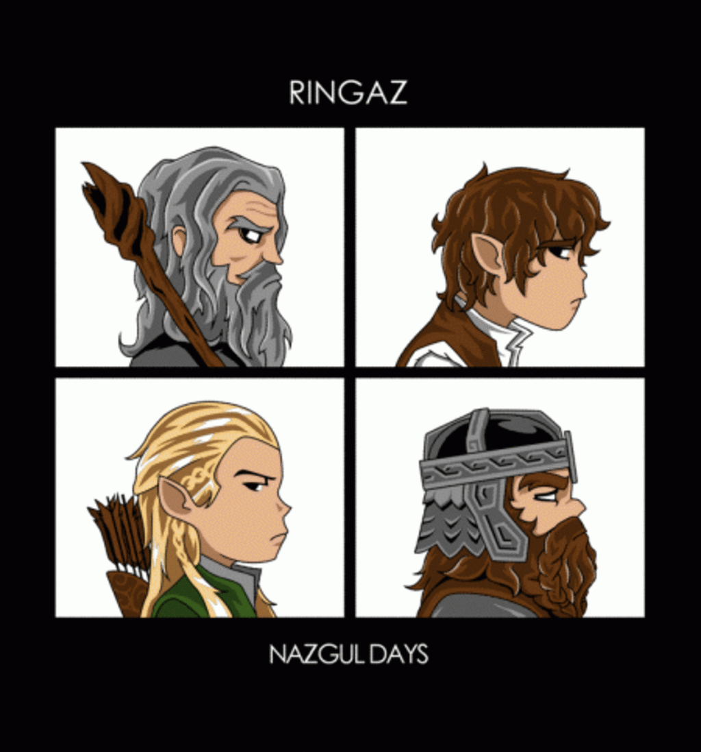BustedTees: Nazgul Days