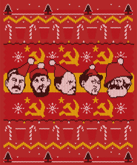 Qwertee: Communist Party Holiday Edition