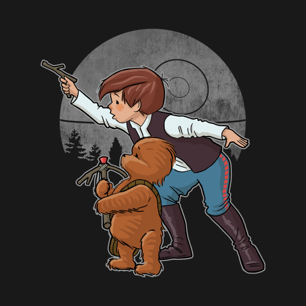 TeePublic: Never Tell Them the Odds T-Shirt