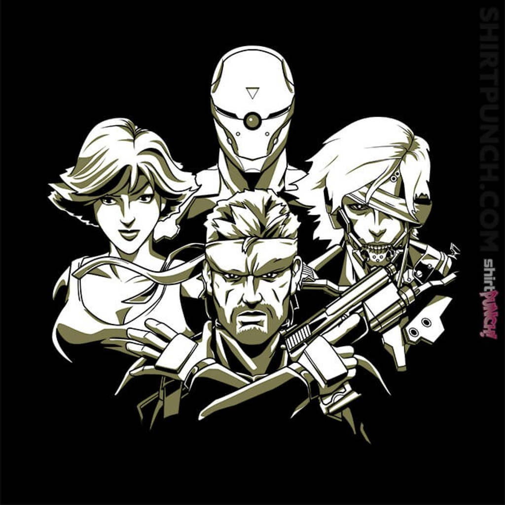 ShirtPunch: Metal Gear Rhapsody