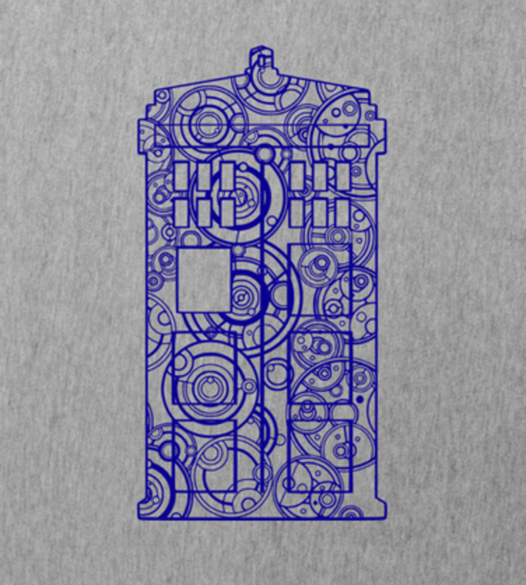 Shirt Battle: Tardis Mandala