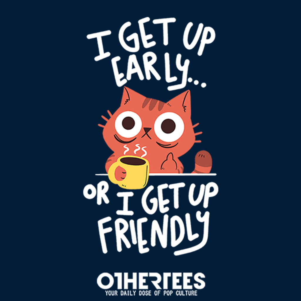 OtherTees: Morning Cat