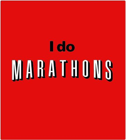 Shirt Battle: I Do Marathons